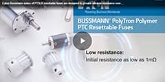 Image of Bussmann PTSLR Surface Mount Low Resistance PTC Resettable Fuses